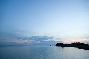 Coast at dawn