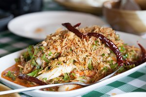 Thailand spicy food