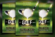 Golf Flyer Template