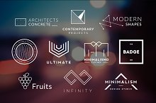 10 Minimalistic Logos Vol. 6