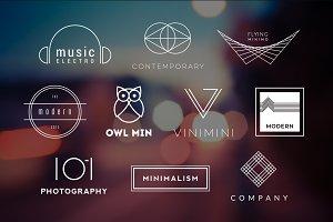 10 Minimalistic Logos Vol. 7