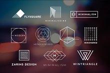 10 Minimalistic Logos Vol. 8