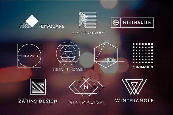 10 Minimalistic Logos Vol. 8 - Logos