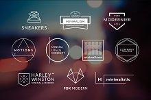10 Minimalistic Logos Vol. 10