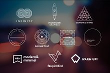 10 Minimalistic Logos Vol. 13