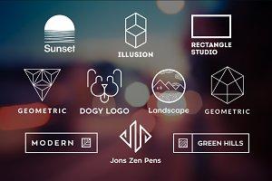 10 Minimalistic Logos Vol. 14