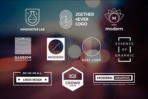 10 Minimalistic Logos Vol. 15