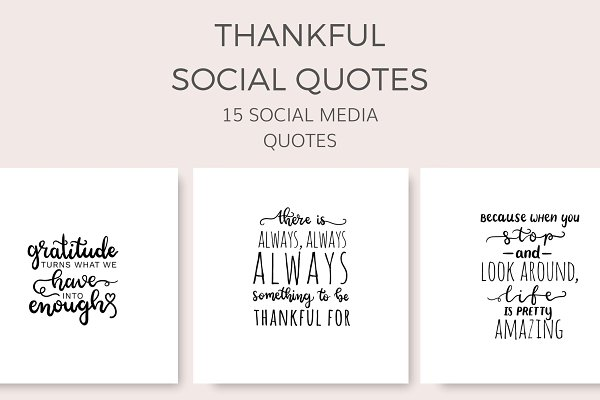 Thankful Social Quotes (15 Images)