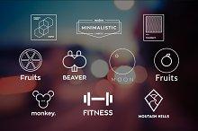 10 Minimalistic Logos Vol. 16