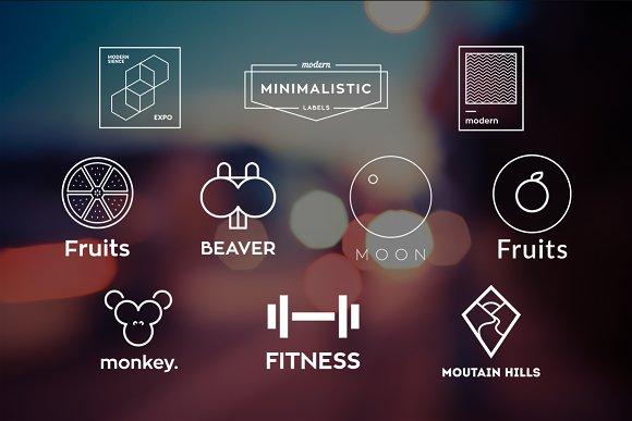 10 Minimalistic Logos Vol. 16 - Logos