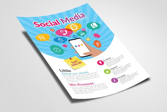 Social Media Flyer Template in Flyer Templates - product preview 1