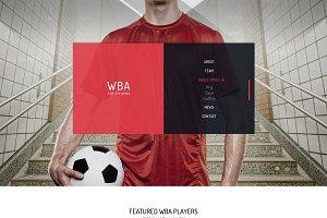 WBA - HTML5 Template for Sport
