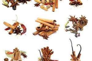 Collections of Spices