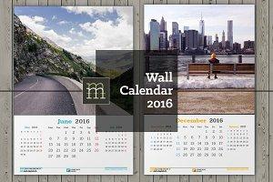 Wall Calendar 2016 (WC06)