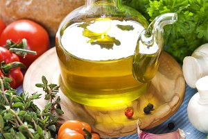 Olive oil and condiments