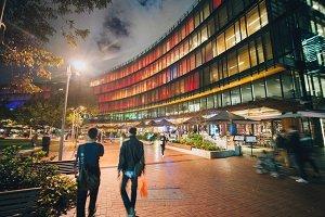 Sydney Darling Quarter at night