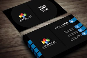 Creative clean cs 2 business card