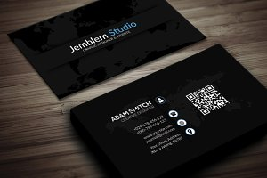 creative clean cs 1 business card