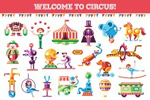 Welcome to Circus Icons Set