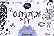 50%OFF -Christmas KIT Vol.1- Vector
