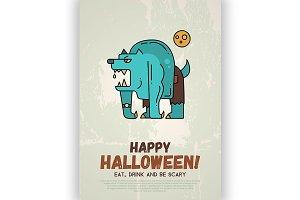 4 Halloween Posters