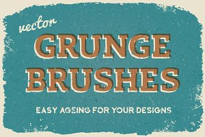 Vector Subtle Grunge Brushes