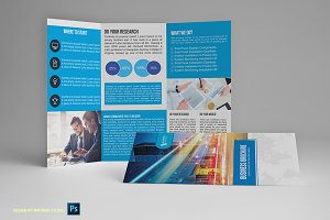 Trifold Business Brochure Vol03