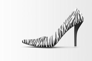 Shoes Mockup - High Heels Mockup 2