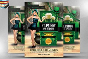 St. Patrick's Day Special Flyer