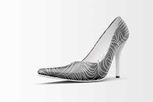 Shoes Mockup - High Heels Mockup 3