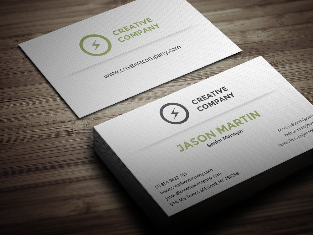 Creative Employee Business Card ~ Business Card Templates ~ Creative ...