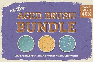 Aged Vector Brush Bundle