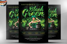 St. Paddy's Day Black & Green Flyer