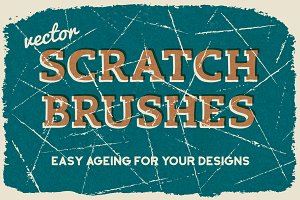 Vector Scratch Brushes