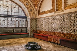 Inside harem of Topkapi