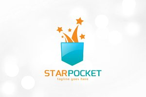 Star Pocket Logo Template