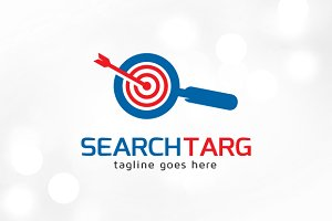 Search Target Logo Template