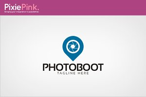 Photo Boot Logo Template