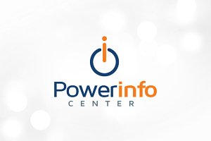 Power Info Logo Template