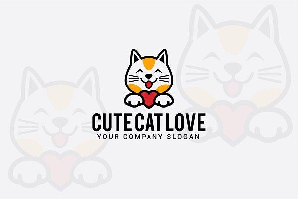 cute cat love