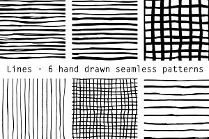 Hand drawn lines - patterns