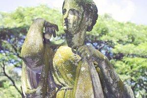 Diana Sculpture at Allerton Gardens