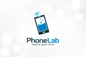 Phone Lab Logo Template