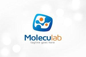 Molecule Lab Logo Template