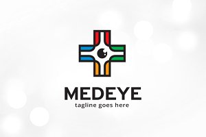 Medical Eye Logo Template