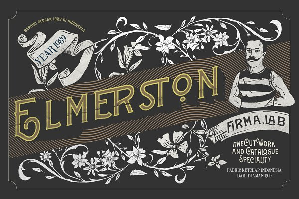 Wincosin Vintage & Package Fonts
