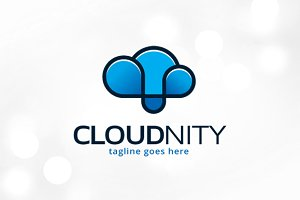 Infinity Cloud Logo Template