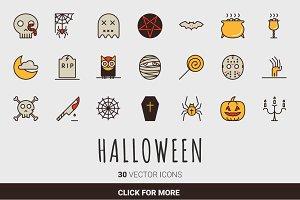 Halloween Spooky Set