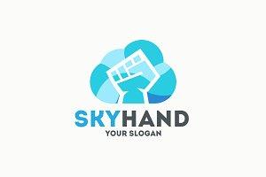 Sky Hand Logo