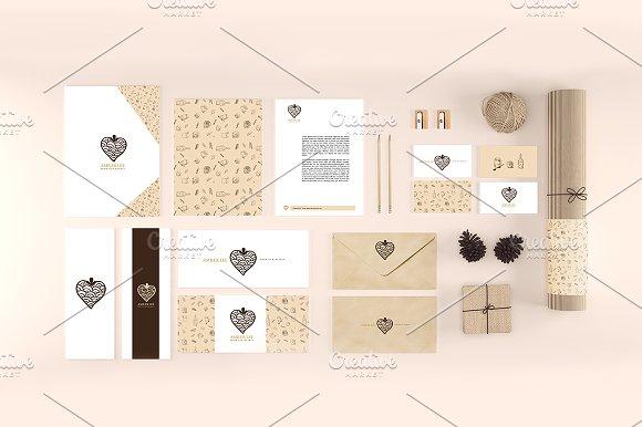 Download Organic Stationery/Branding Mock-Up